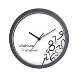 Cute Whatever Wall Clock