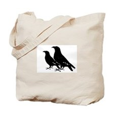 2 Crows Tote Bag