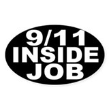 9/11 Inside Job Decal