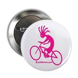 "Kokopelli Mountain Biker 2.25"" Button (100 pack)"