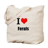 Forgotten Feral Cat Rescue Tote Bag