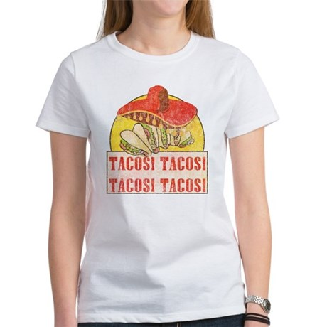 Reno Tacos (Retro Wash) Women's T-Shirt