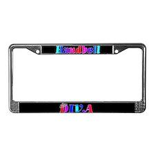 Handbell Diva License Plate Frame