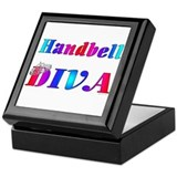 Handbell Diva Keepsake Box