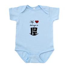 Mr. Darcy Heart Infant Bodysuit