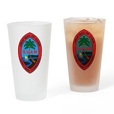 Guam Drinking Glass