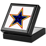 Cool Multi color Keepsake Box