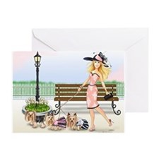 A day at the Derby Greeting Cards (Pk of 20)