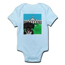I barack for Obama! Infant Bodysuit