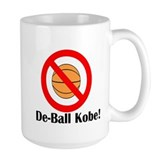 De-Ball Kobe! Ceramic Mugs