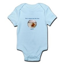 Where the fish lives Onesie
