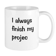 Funny Project Manager Small Mug