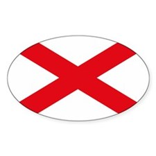Alabama Flag Rectangle Decal
