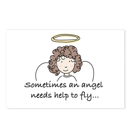 Special Angel Postcards (Package of 8)