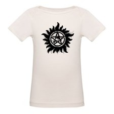 Anti-Possession Symbol Black (Splatter) Tee