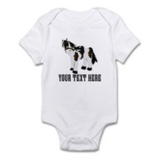 Customizable Pony Print Body Suit