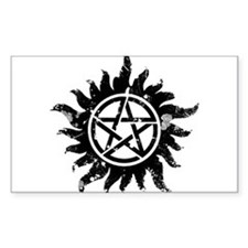 Anti-Possession Symbol Black (Corrupted) Decal