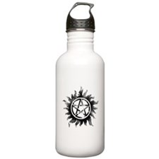 Anti-Possession Symbol Black (Glow) Sports Water Bottle