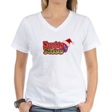 Naughty AND Nice Christmas Design Shirt