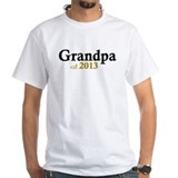 New Grandpa Est 2013 Shirt