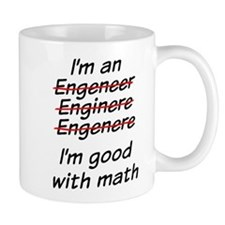 I am good with math Mug