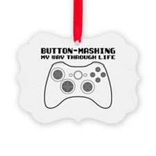 Button Masher Ornament