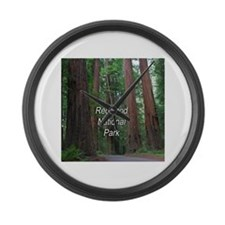 Redwood National Park Large Wall Clock