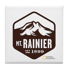 Mount Rainier Tile Coaster
