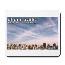 Chem Spray Conspiracy Mousepad