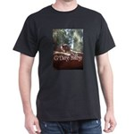Black Footed Wallaby Black T-Shirt