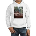 Black Footed Wallaby Hooded Sweatshirt