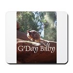 Black Footed Wallaby Mousepad