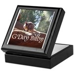 Black Footed Wallaby Keepsake Box
