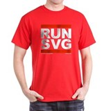 RUN SVG T-Shirt