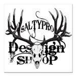 saltypro design shop Square Car Magnet 3