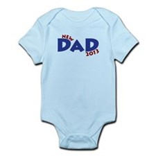 New Dad Est 2013 Infant Bodysuit