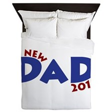 New Dad Est 2013 Queen Duvet