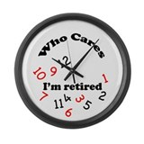 Cute Humor Large Wall Clock