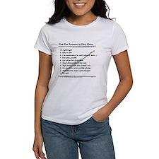 top 10 flute T-Shirt T-Shirt