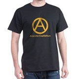 2-Anarcho-Capitalism White.psd T-Shirt