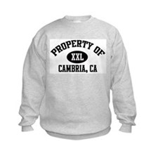 Property of CAMBRIA Sweatshirt