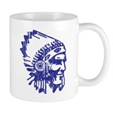 Blue Indian Vintage Mug