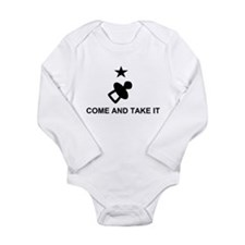 Come and take it large_pacifier Body Suit