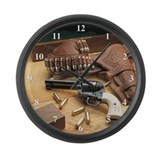 Funny Colt Large Wall Clock
