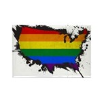 Pride USA Rectangle Magnet