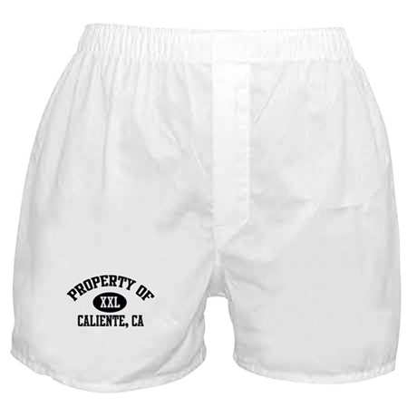 Property of CALIENTE Boxer Shorts