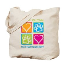 Be The Solution Squares Tote Bag