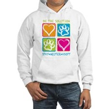 Be The Solution Squares Hoodie