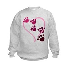 Dog Paws Sweatshirt