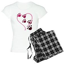 Dog Paws Pajamas
